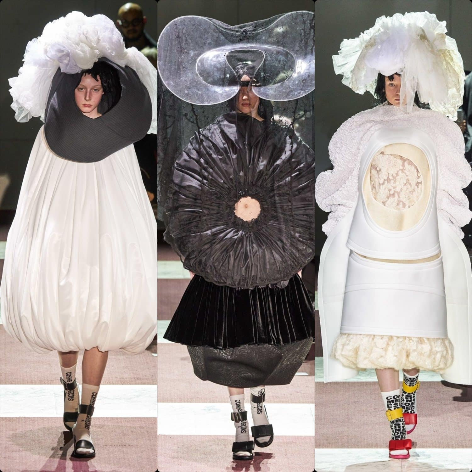 Comme des Garcons Fall-Winter 2020-2021 Paris. RUNWAY MAGAZINE ® Collections. RUNWAY NOW / RUNWAY NEW