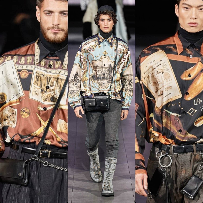 Dolce Gabbana Fall-Winter 2020-2021 Milan Men Fashion Week. RUNWAY MAGAZINE ® Collections. RUNWAY NOW / RUNWAY NEW