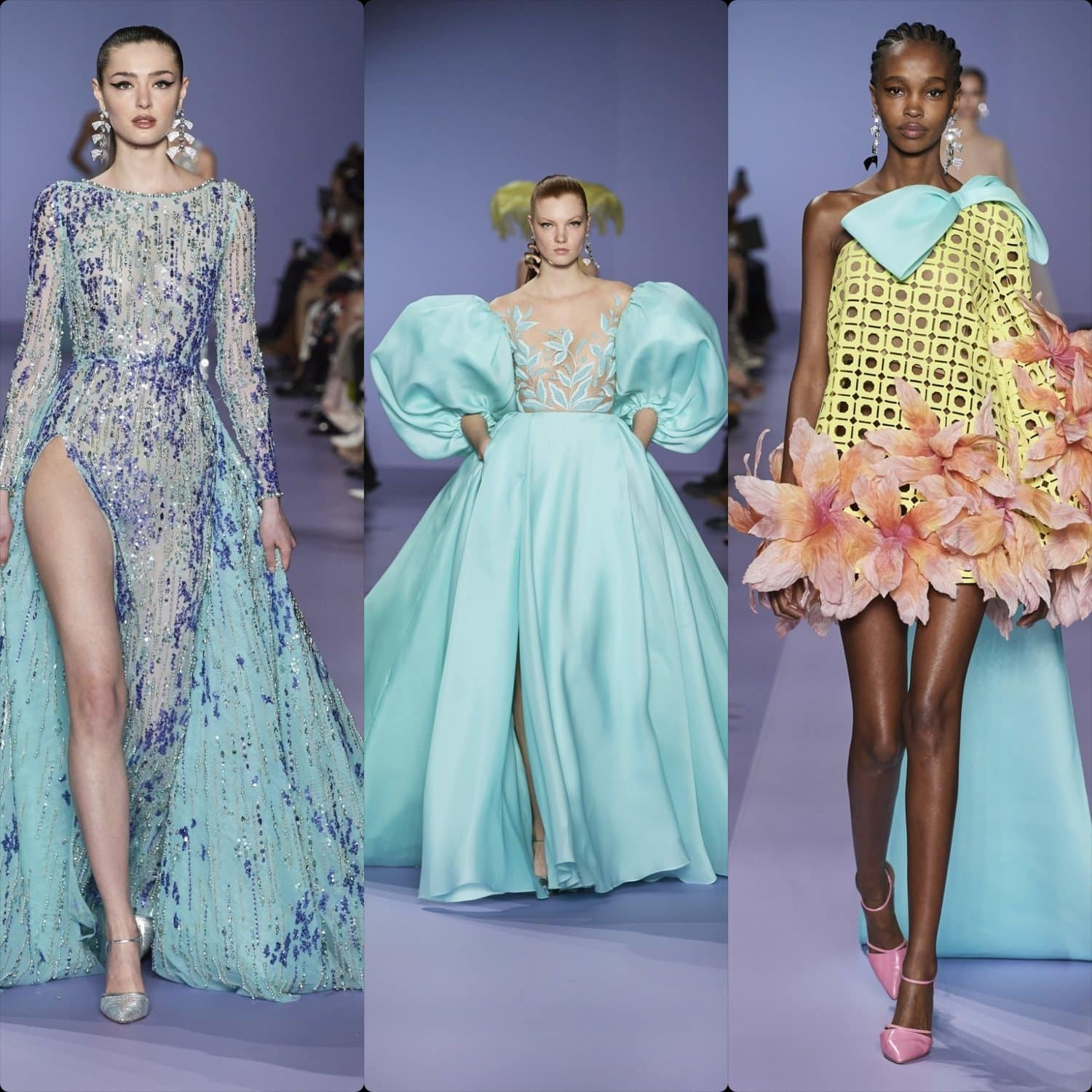 Georges Hobeika Haute Couture Spring Summer 2020 Paris. RUNWAY MAGAZINE ® Collections. RUNWAY NOW / RUNWAY NEW