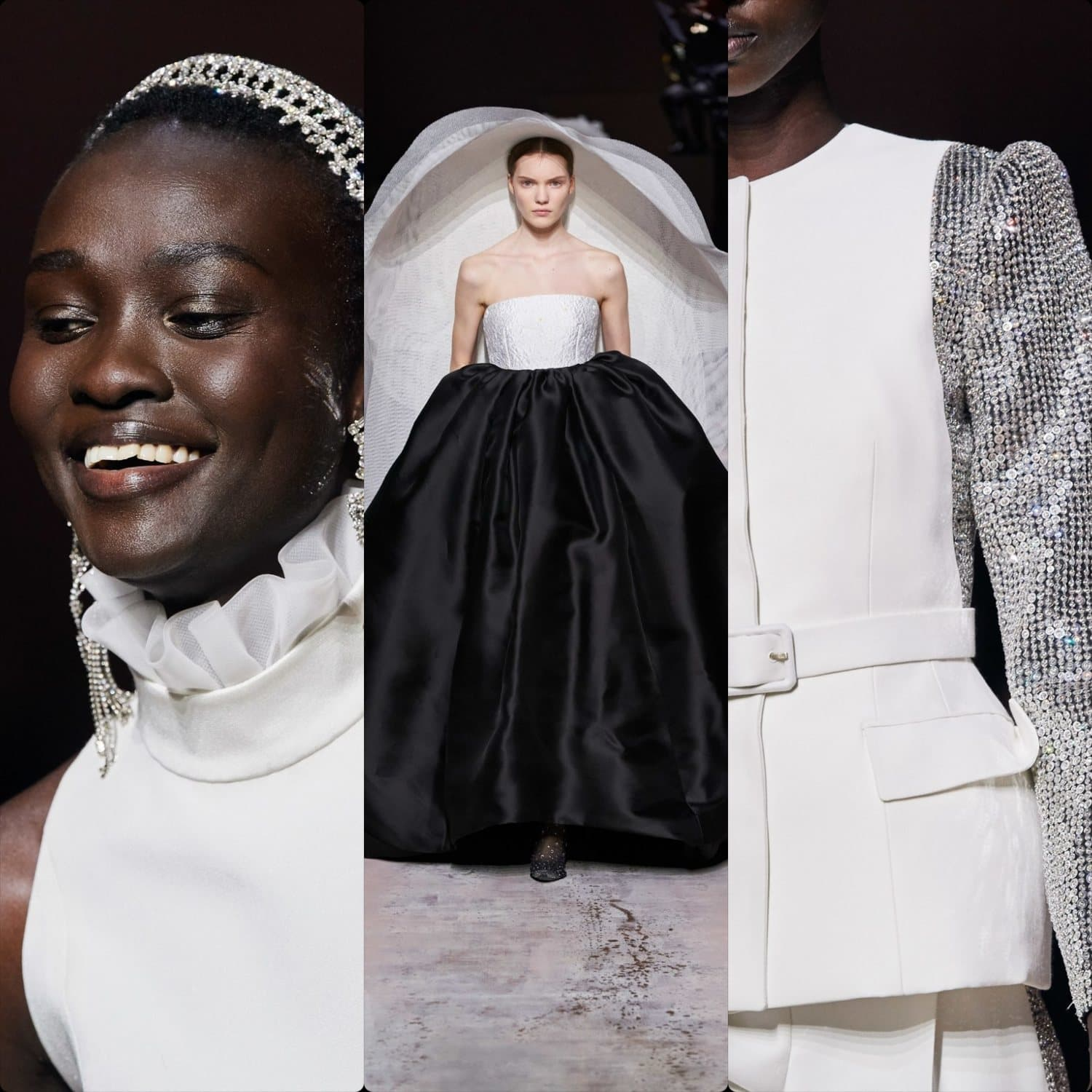 Givenchy Haute Couture Spring Summer 2020 Paris. RUNWAY MAGAZINE ® Collections. RUNWAY NOW / RUNWAY NEW