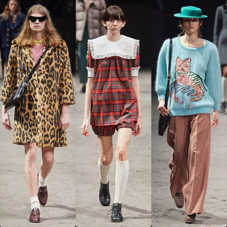 Gucci Fall-Winter 2020-2021 Milan Men Fashion Week. RUNWAY MAGAZINE ® Collections. RUNWAY NOW / RUNWAY NEW
