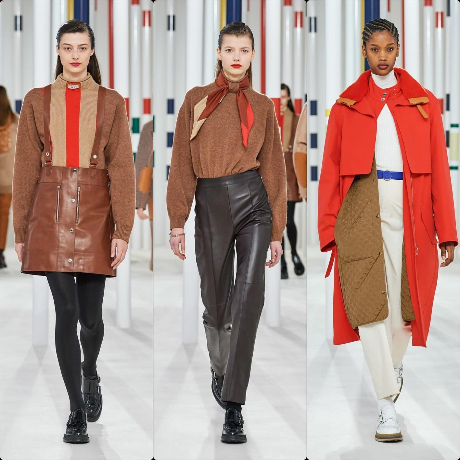 Hermes Fall-Winter 2020-2021 Paris. RUNWAY MAGAZINE ® Collections. RUNWAY NOW / RUNWAY NEW