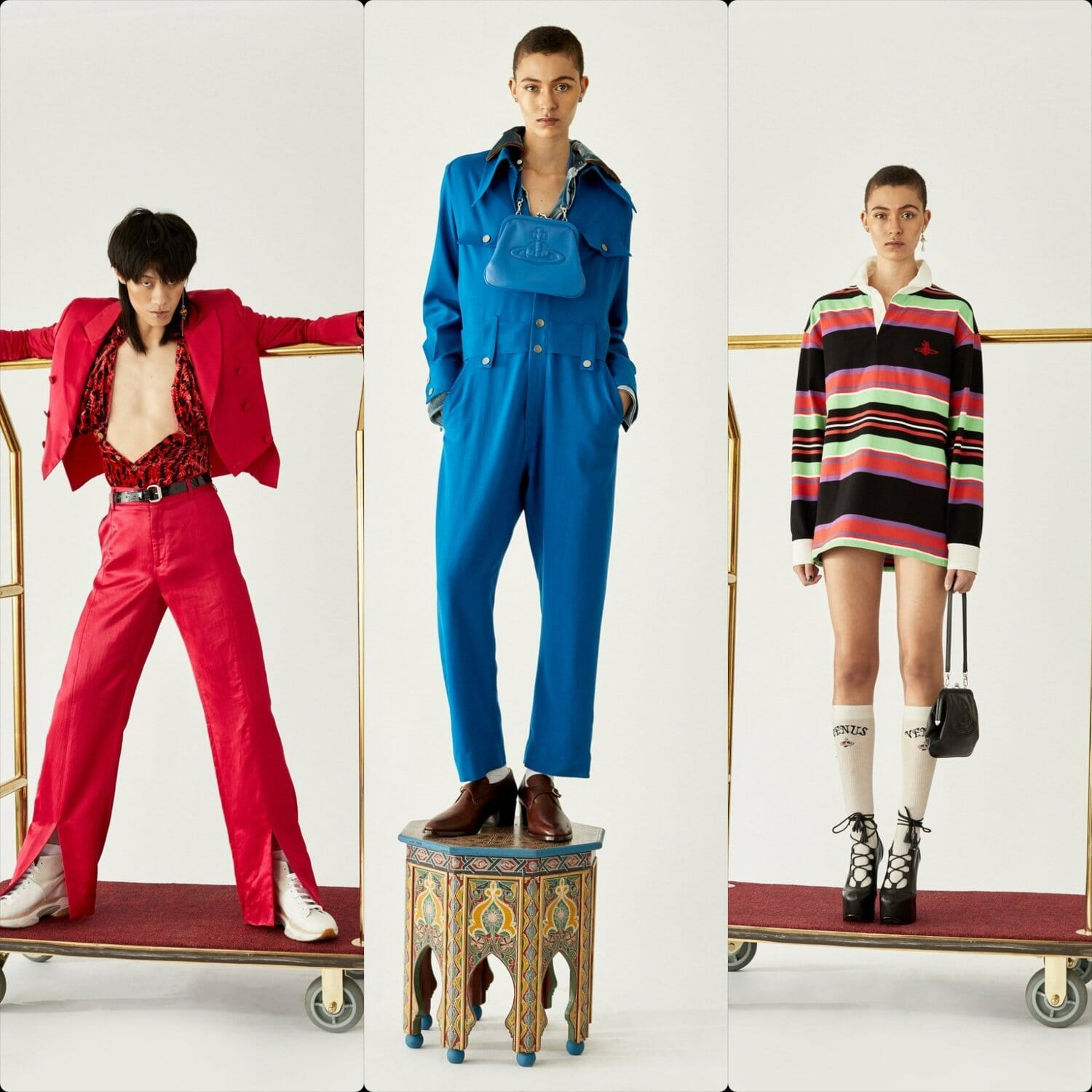 Vivienne Westwood Fall-Winter 2020-2021 London. RUNWAY MAGAZINE ® Collections. RUNWAY NOW / RUNWAY NEW