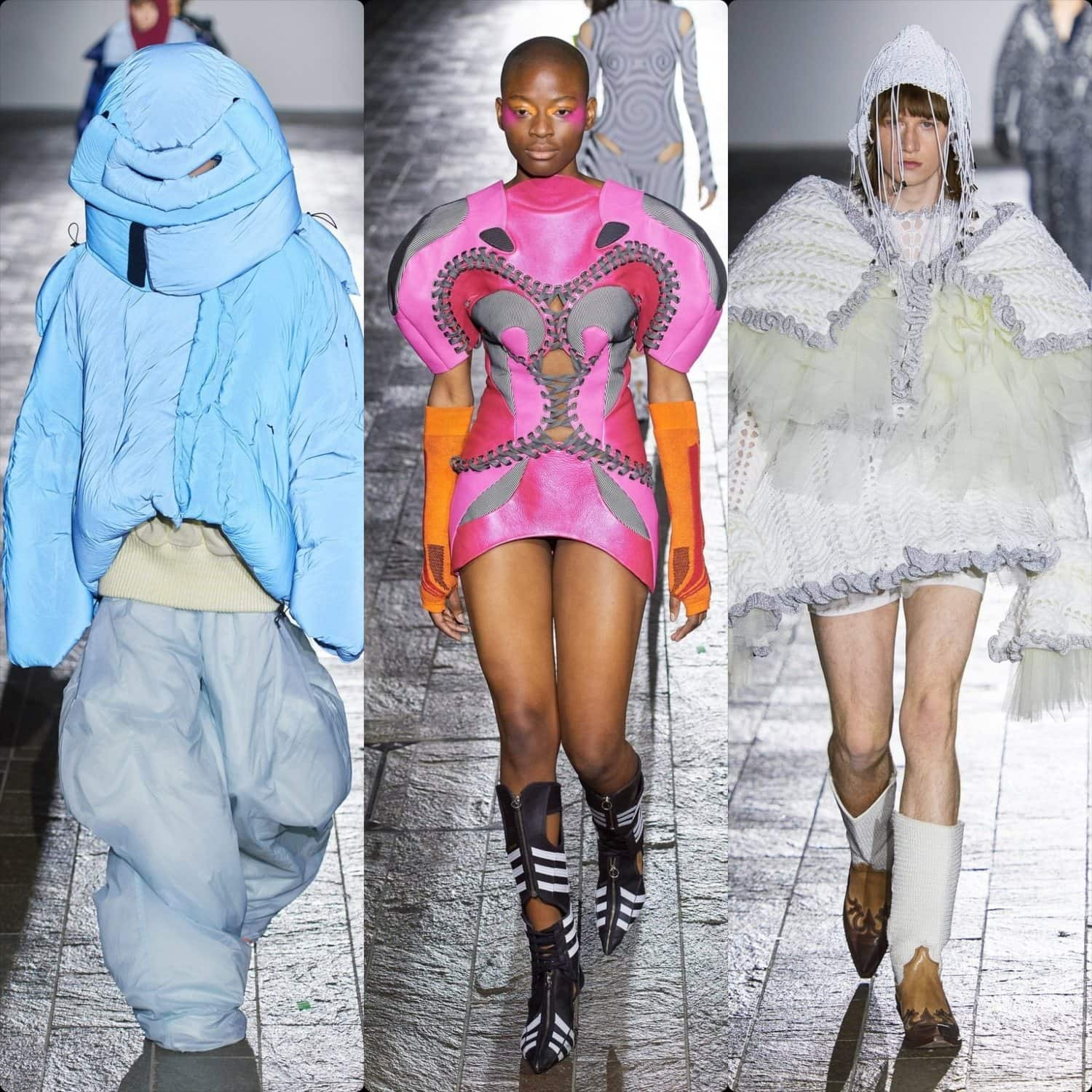 Central ST Martins school Fall-Winter 2020-2021 London. RUNWAY MAGAZINE ® Collections. RUNWAY NOW / RUNWAY NEW