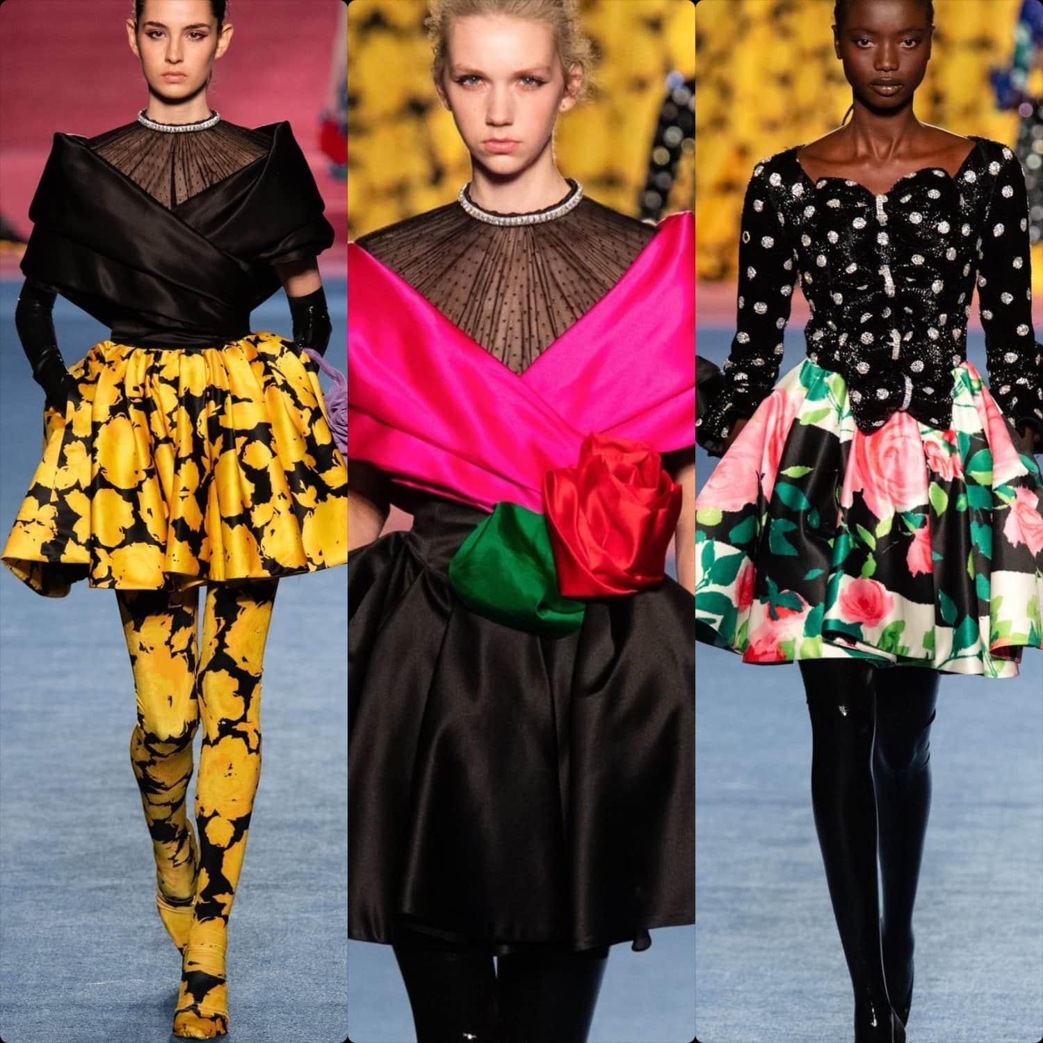 Richard Quinn Fall-Winter 2020-2021 London Fashion Week Ready-to-Wear. RUNWAY MAGAZINE ® Collections. RUNWAY NOW / RUNWAY NEW