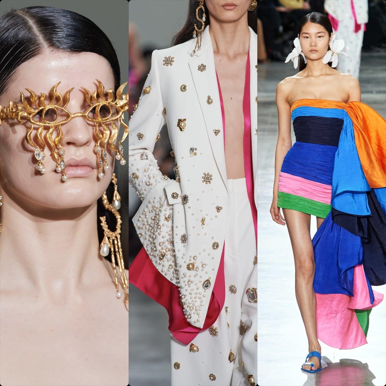 Schiaparelli Haute Couture Spring Summer 2020 Paris. RUNWAY MAGAZINE ® Collections. RUNWAY NOW / RUNWAY NEW