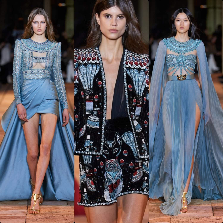 Zuhair Murad Haute Couture Spring Summer 2020 Paris. RUNWAY MAGAZINE ® Collections. RUNWAY NOW / RUNWAY NEW