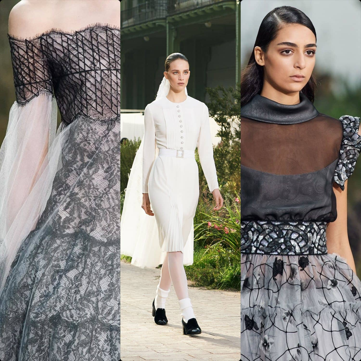 Chanel Haute Couture Spring Summer 2020. RUNWAY MAGAZINE ® Collections. RUNWAY NOW / RUNWAY NEW