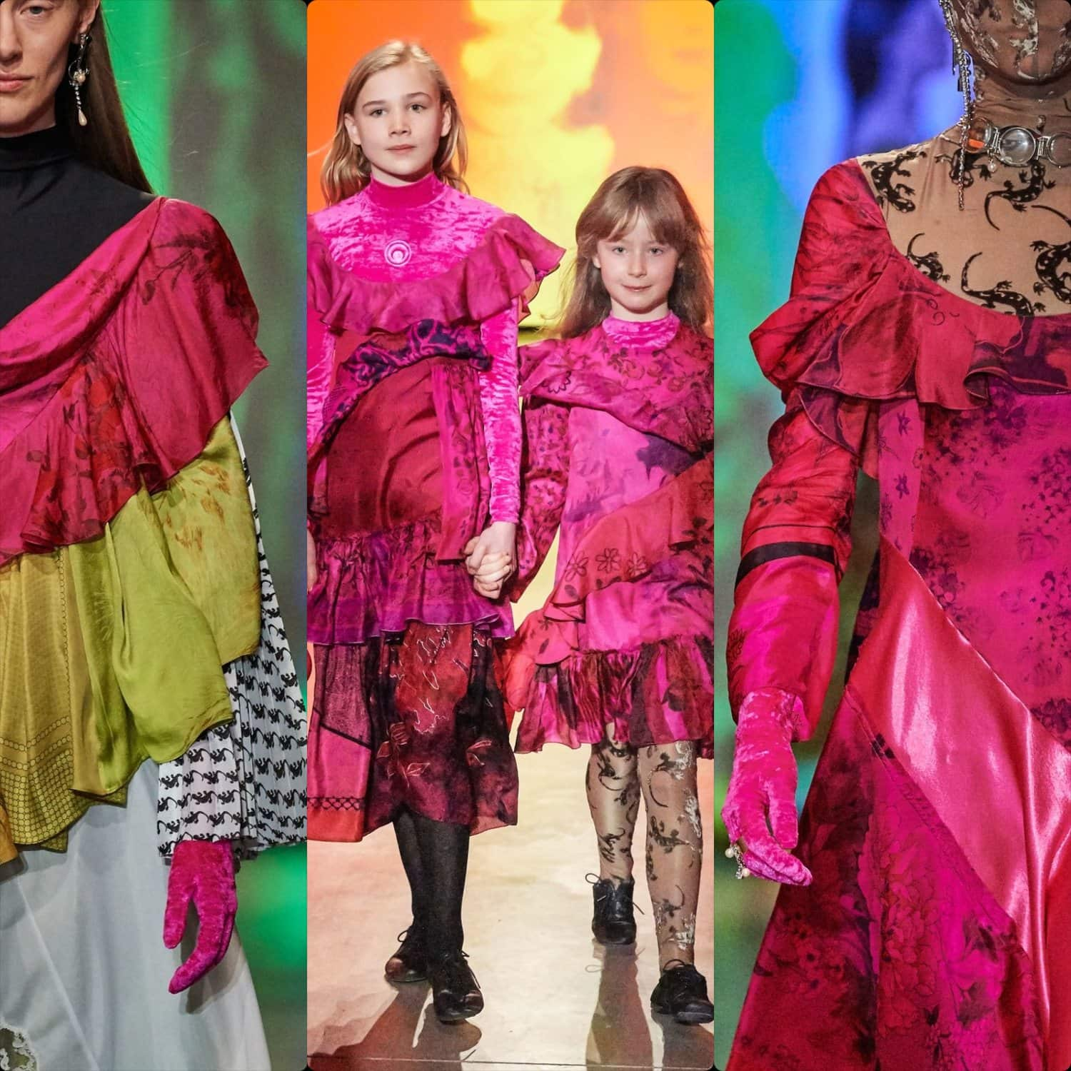 Marine Serre Fall-Winter 2020-2021 Paris. RUNWAY MAGAZINE ® Collections. RUNWAY NOW / RUNWAY NEW