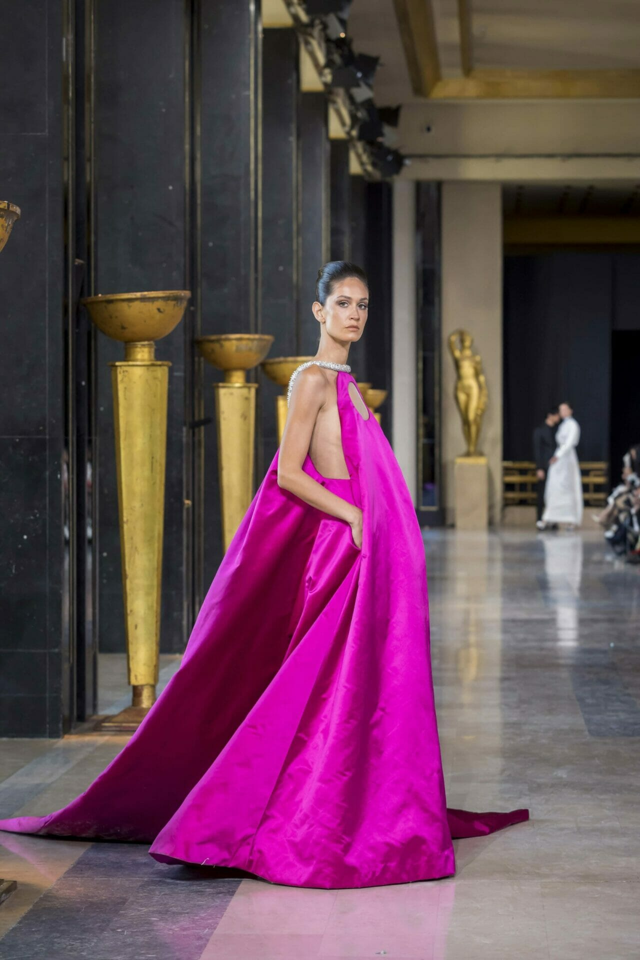 Stephane Rolland Haute Couture Spring Summer 2020 Paris Fashion Week. RUNWAY MAGAZINE ® Collections. RUNWAY NOW / RUNWAY NEW