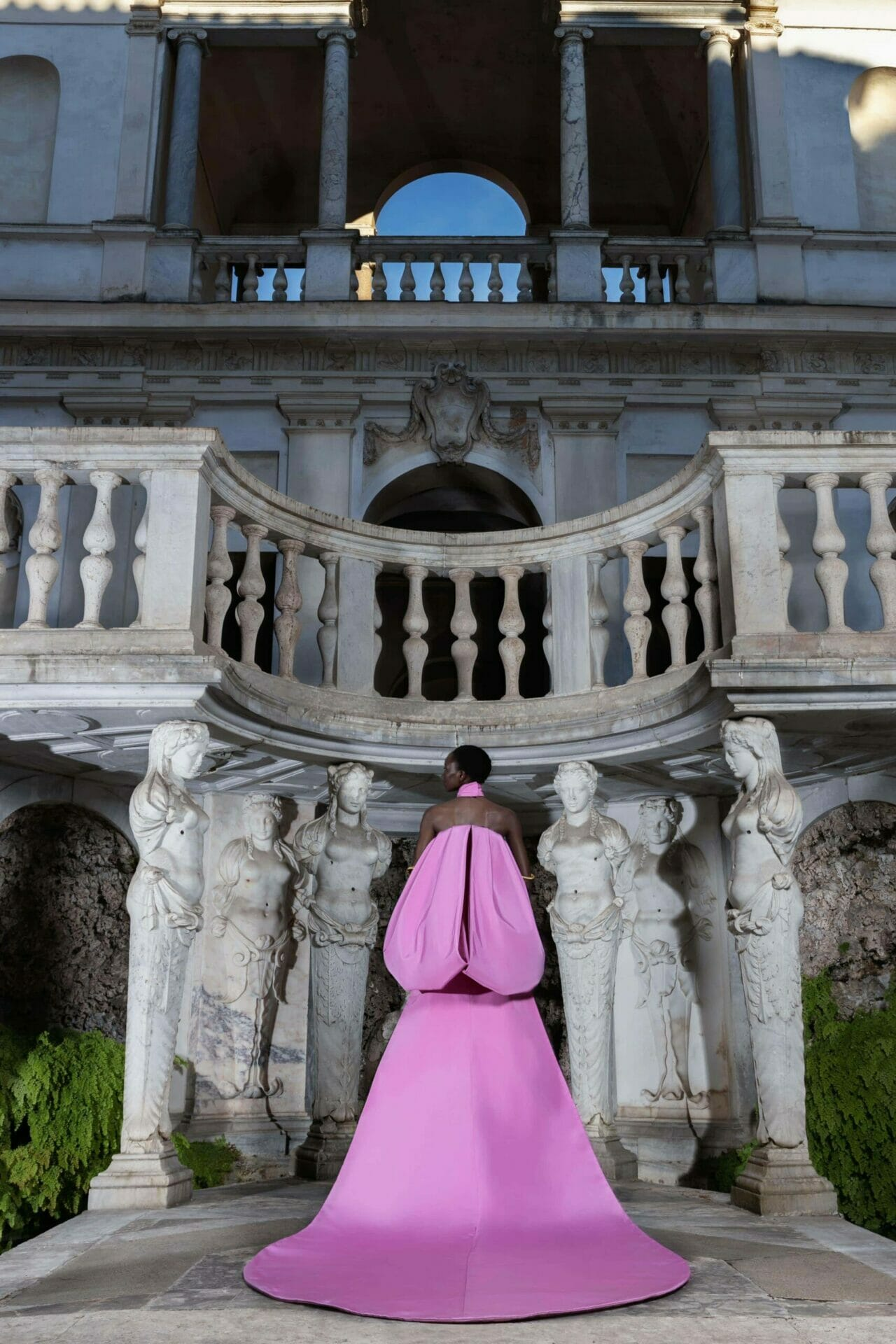 Antonio Grimaldi Haute Couture Fall-Winter 2020-2021 Paris Digital Fashion week. RUNWAY MAGAZINE ® Collections. RUNWAY NOW / RUNWAY NEW