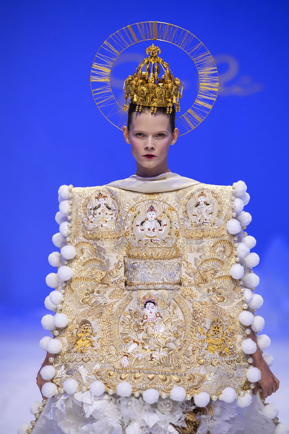 Guo Pei Haute Couture Spring Summer 2020. RUNWAY MAGAZINE ® Collections. RUNWAY NOW / RUNWAY NEW