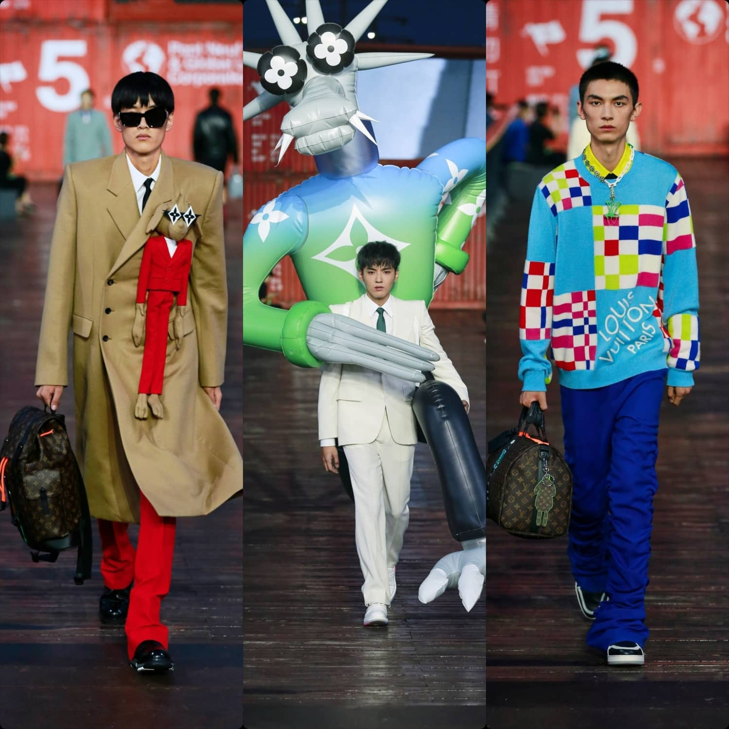 Louis Vuitton Spring Summer 2021 Menswear Shanghai. RUNWAY MAGAZINE ® Collections. RUNWAY NOW / RUNWAY NEW