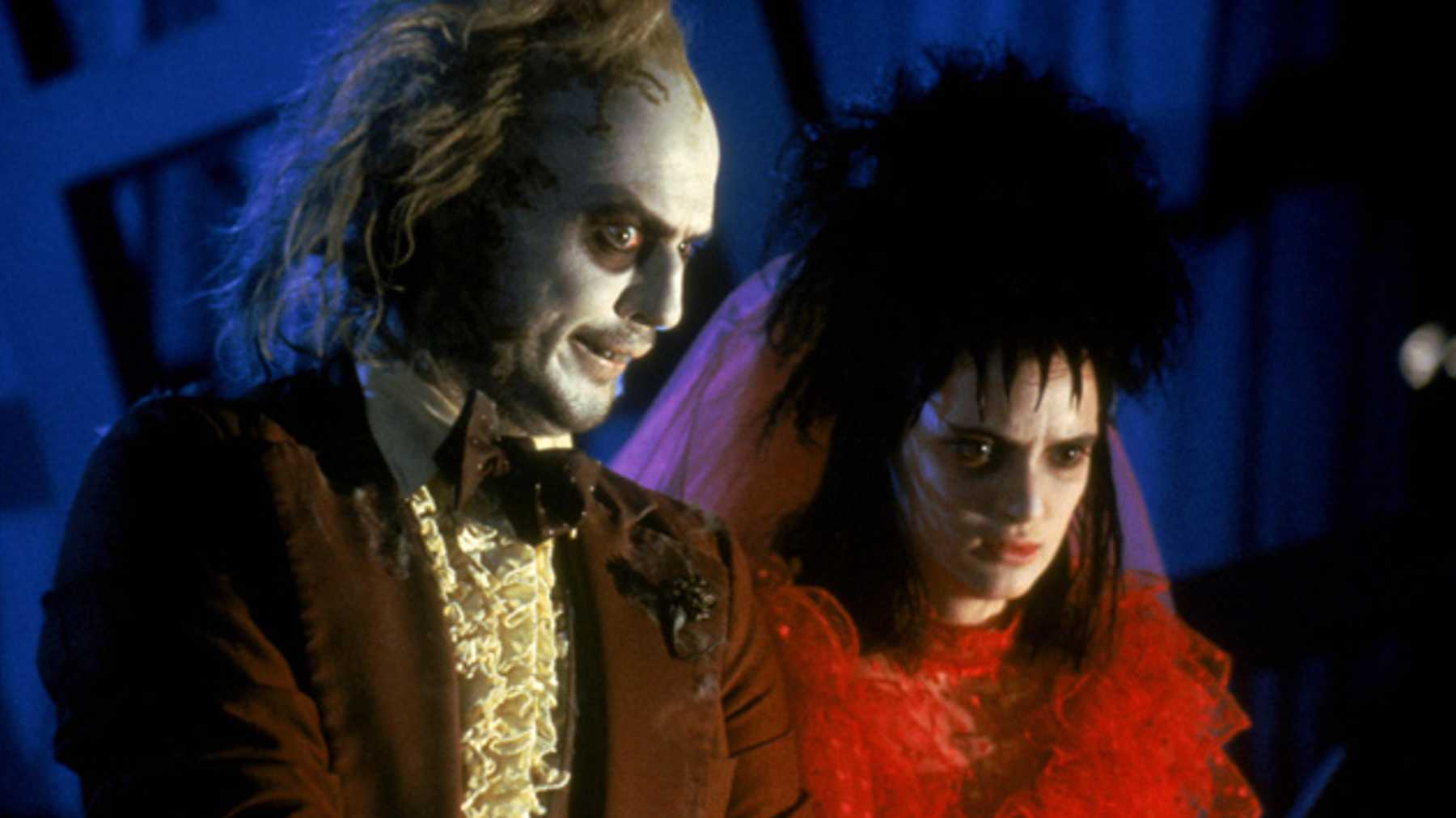 Beetlejuice movie with Michael Keaton and Winona Ryder