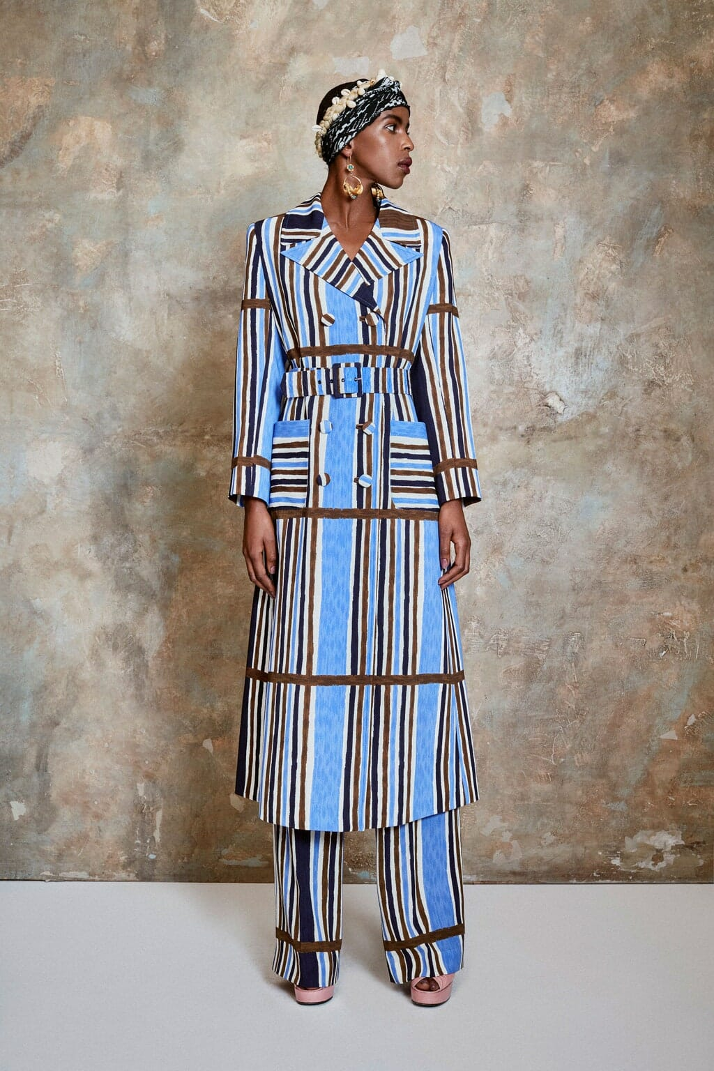 Duro Olowu Spring Summer 2021 London. RUNWAY MAGAZINE ® Collections. RUNWAY NOW / RUNWAY NEW