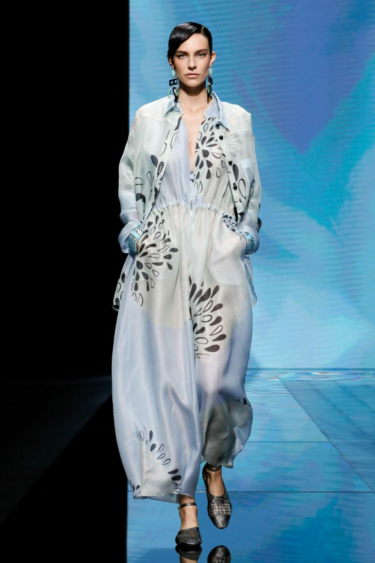 Giorgio Armani Spring Summer 2021 Milan. RUNWAY MAGAZINE ® Collections. RUNWAY NOW / RUNWAY NEW