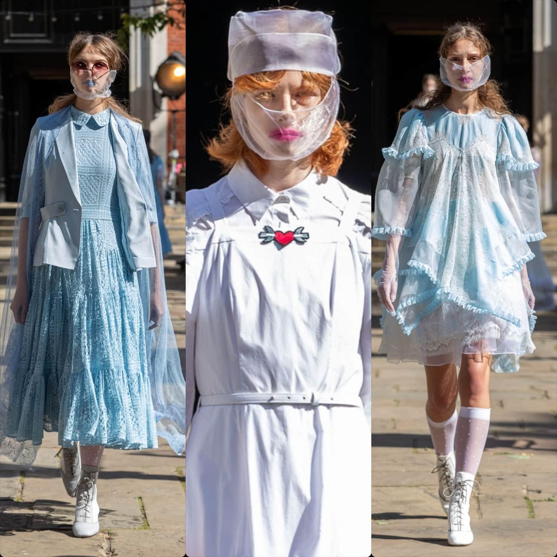 Bora Aksu Spring Summer 2021 London Fashion Week. RUNWAY MAGAZINE ® Collections. RUNWAY NOW / RUNWAY NEW