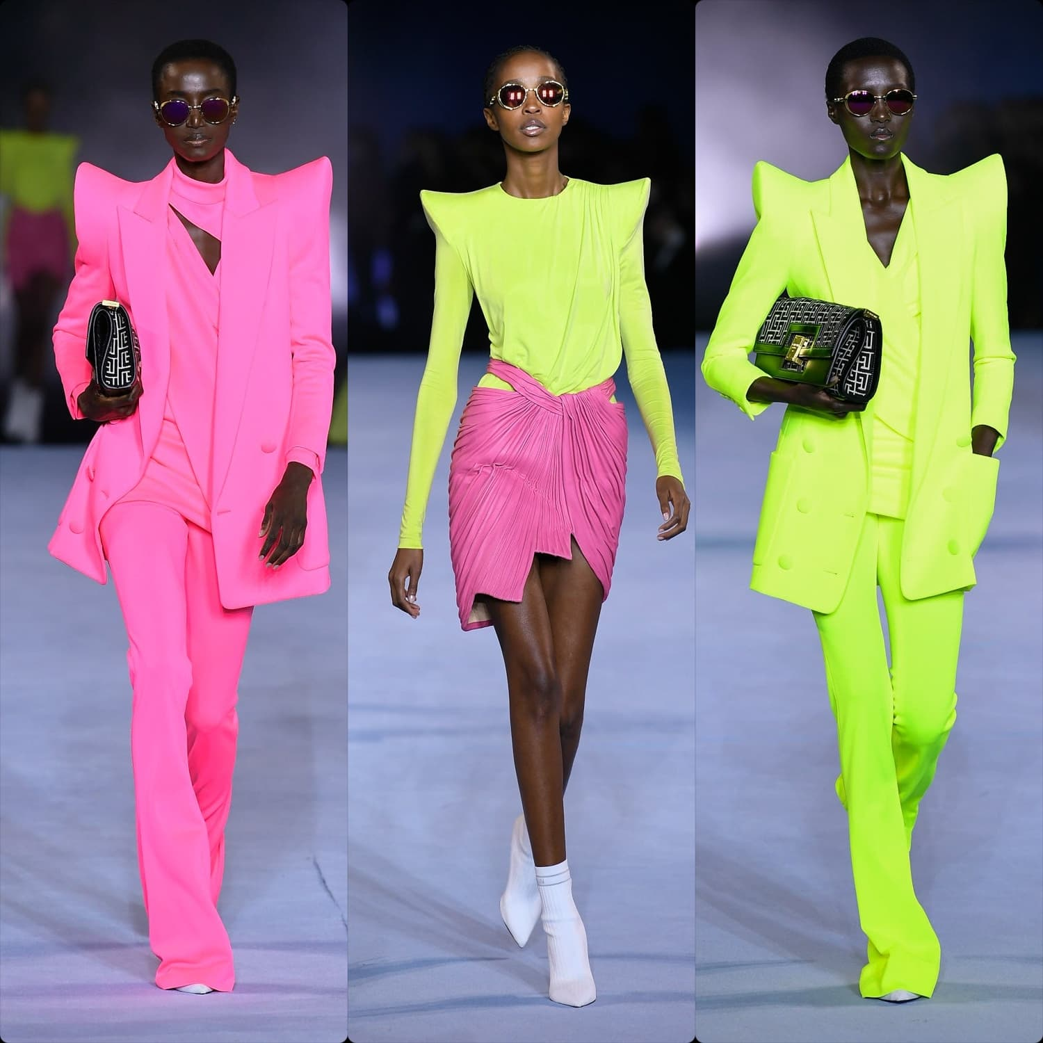 Balmain Spring Summer 2021 Paris. RUNWAY MAGAZINE ® Collections. RUNWAY NOW / RUNWAY NEW