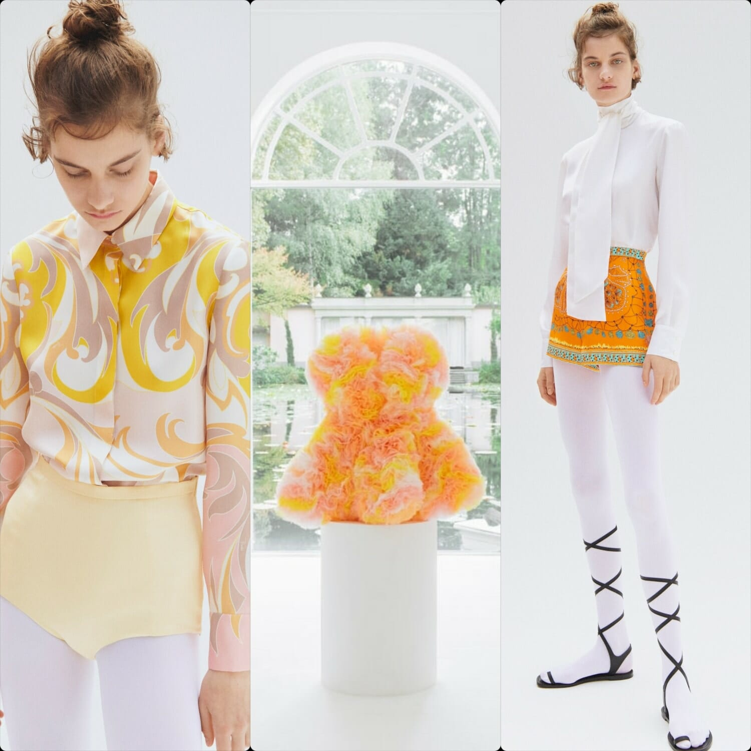 Emilio Pucci Spring Summer 2021 - Capsule Tomo Koizumi. RUNWAY MAGAZINE ® Collections. RUNWAY NOW / RUNWAY NEW