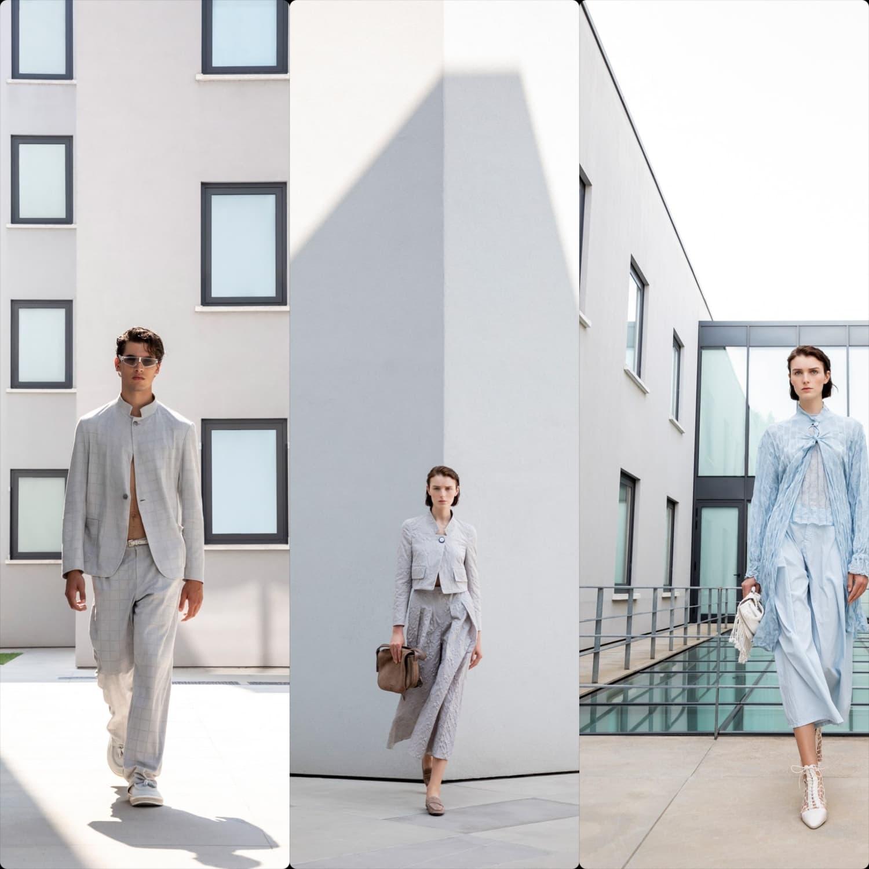 Emporio Armani Spring Summer 2021 Milan. RUNWAY MAGAZINE ® Collections. RUNWAY NOW / RUNWAY NEW