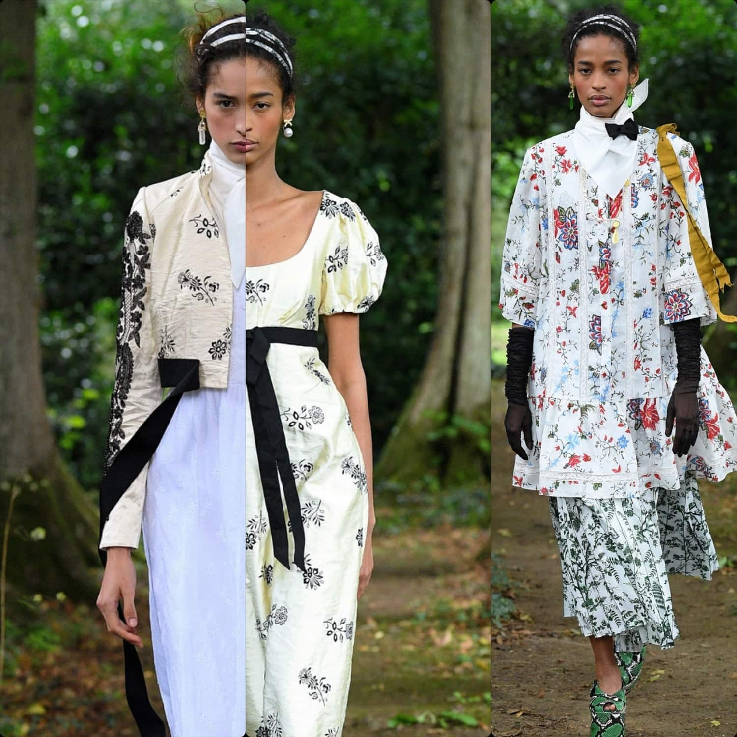 Erdem Spring Summer 2021 London. RUNWAY MAGAZINE ® Collections. RUNWAY NOW / RUNWAY NEW