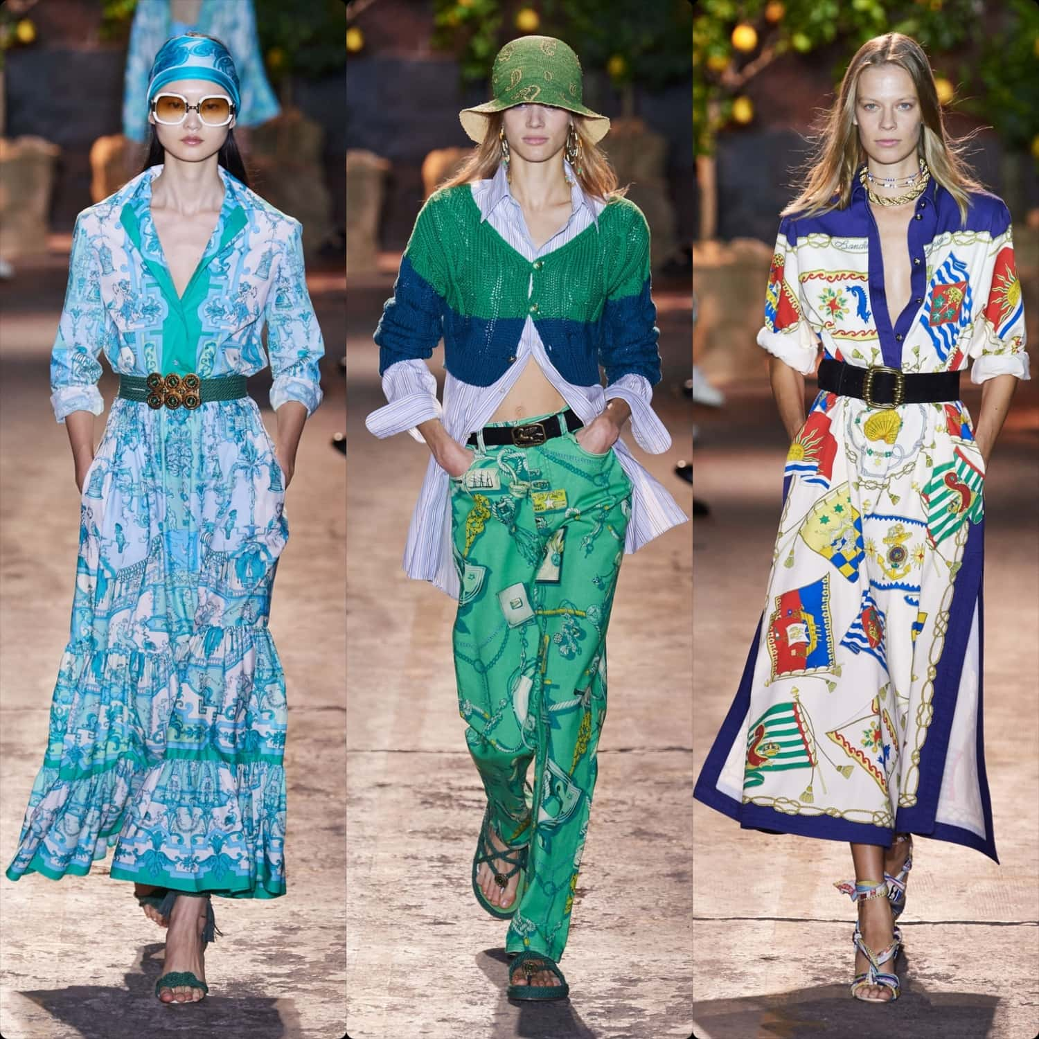 Etro Spring Summer 2021 Milan. RUNWAY MAGAZINE ® Collections. RUNWAY NOW / RUNWAY NEW