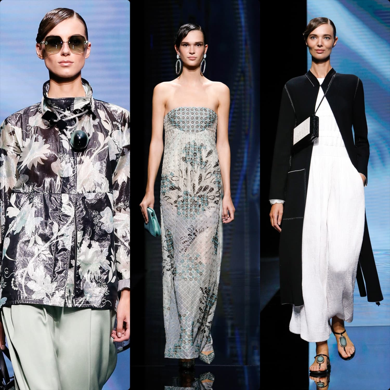 Giorgio Armani Spring Summer 2021 Milan. RUNWAY MAGAZINE ® Collections. RUNWAY NOW / RUNWAY NEW