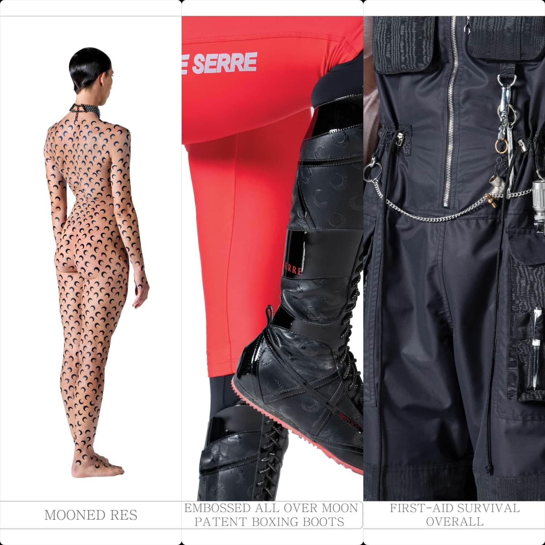 Marine Serre Spring Summer 2021 Paris Fashion Week. RUNWAY MAGAZINE ® Collections. RUNWAY NOW / RUNWAY NEW