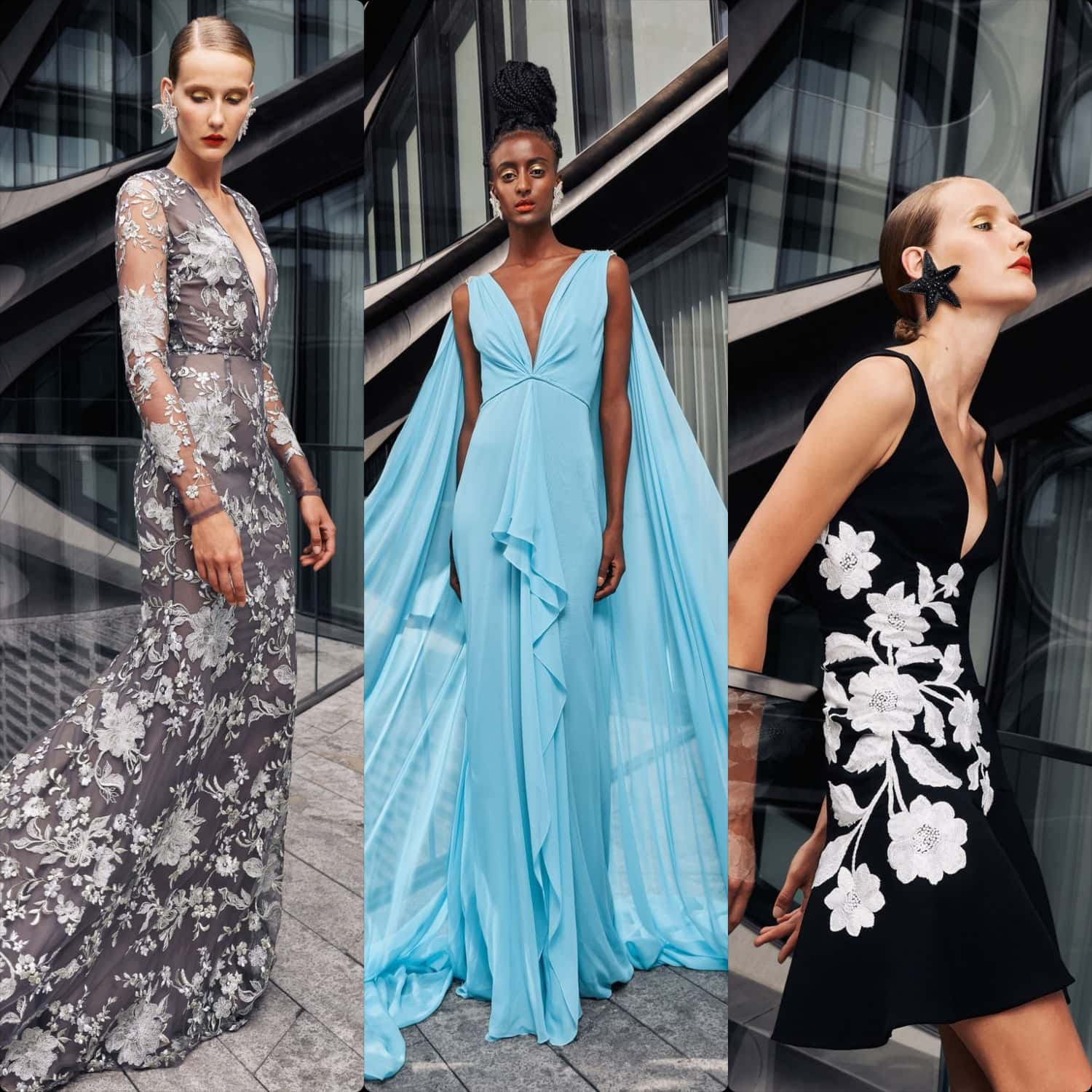 Naeem Khan Spring Summer 2021 New York. RUNWAY MAGAZINE ® Collections. RUNWAY NOW / RUNWAY NEW
