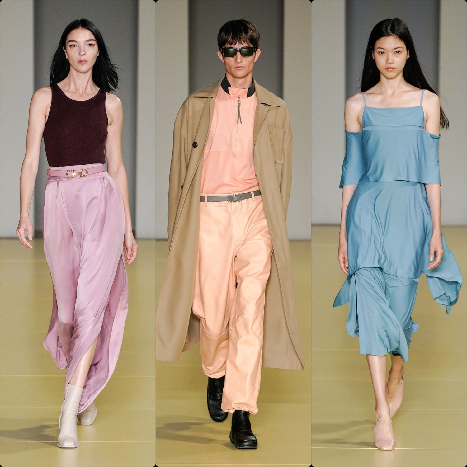 Salvatore Ferragamo Spring Summer 2021 Milan. RUNWAY MAGAZINE ® Collections. RUNWAY NOW / RUNWAY NEW