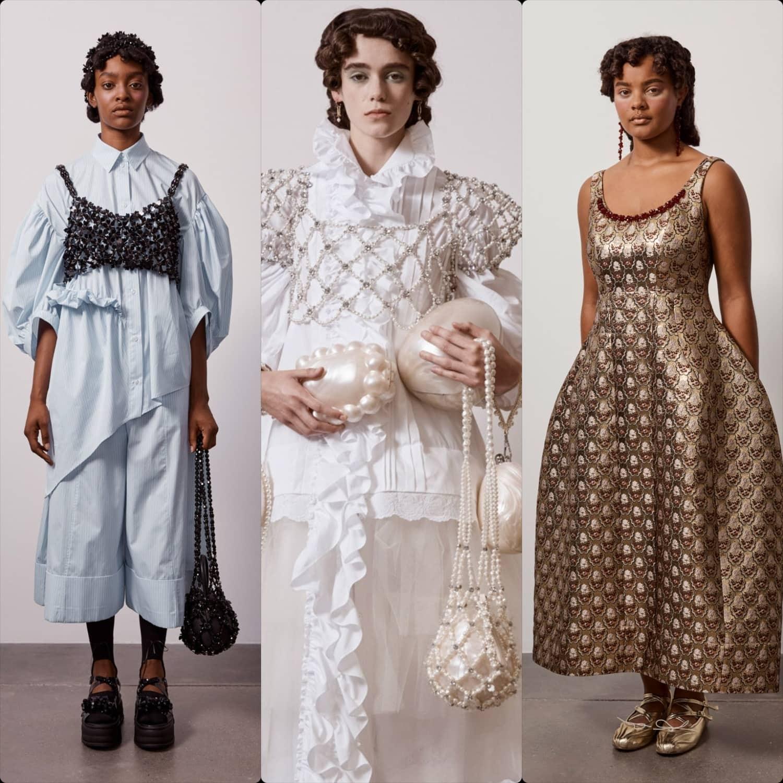 Simone Rocha Spring Summer 2021 London. RUNWAY MAGAZINE ® Collections. RUNWAY NOW / RUNWAY NEW