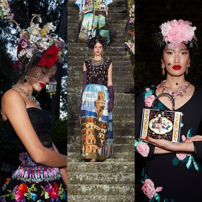 Dolce Gabbana Alta Moda Firenze 2020 – Fall-Winter 2020-2021 by RUNWAY MAGAZINE