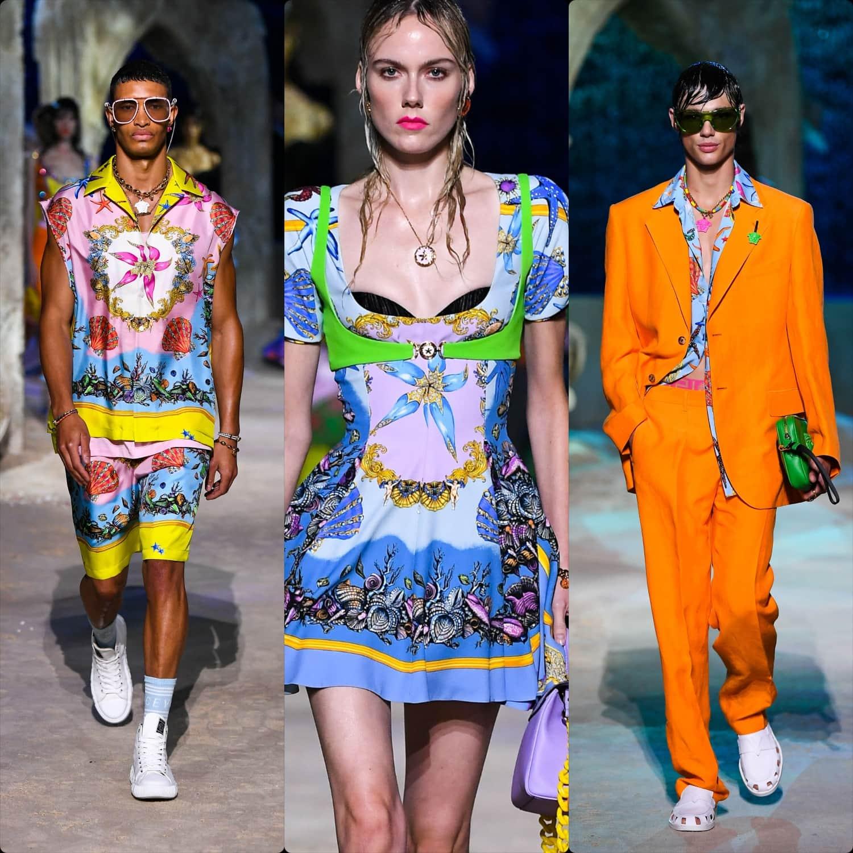 Versace Spring Summer 2021 Milan. RUNWAY MAGAZINE ® Collections. RUNWAY NOW / RUNWAY NEW