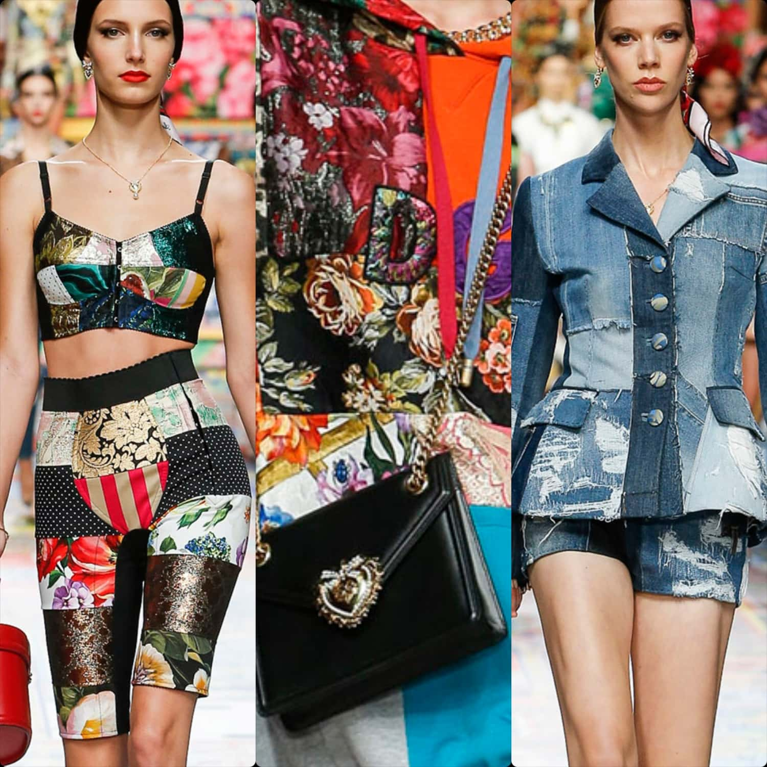 Dolce Gabbana Spring Summer 2021 Milan Fashion Week. RUNWAY MAGAZINE ® Collections. RUNWAY NOW / RUNWAY NEW