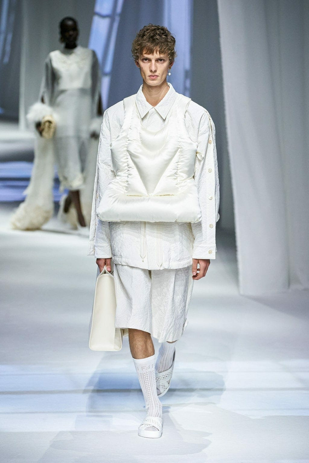 Fendi Spring Summer 2021 Milan. RUNWAY MAGAZINE ® Collections. RUNWAY NOW / RUNWAY NEW