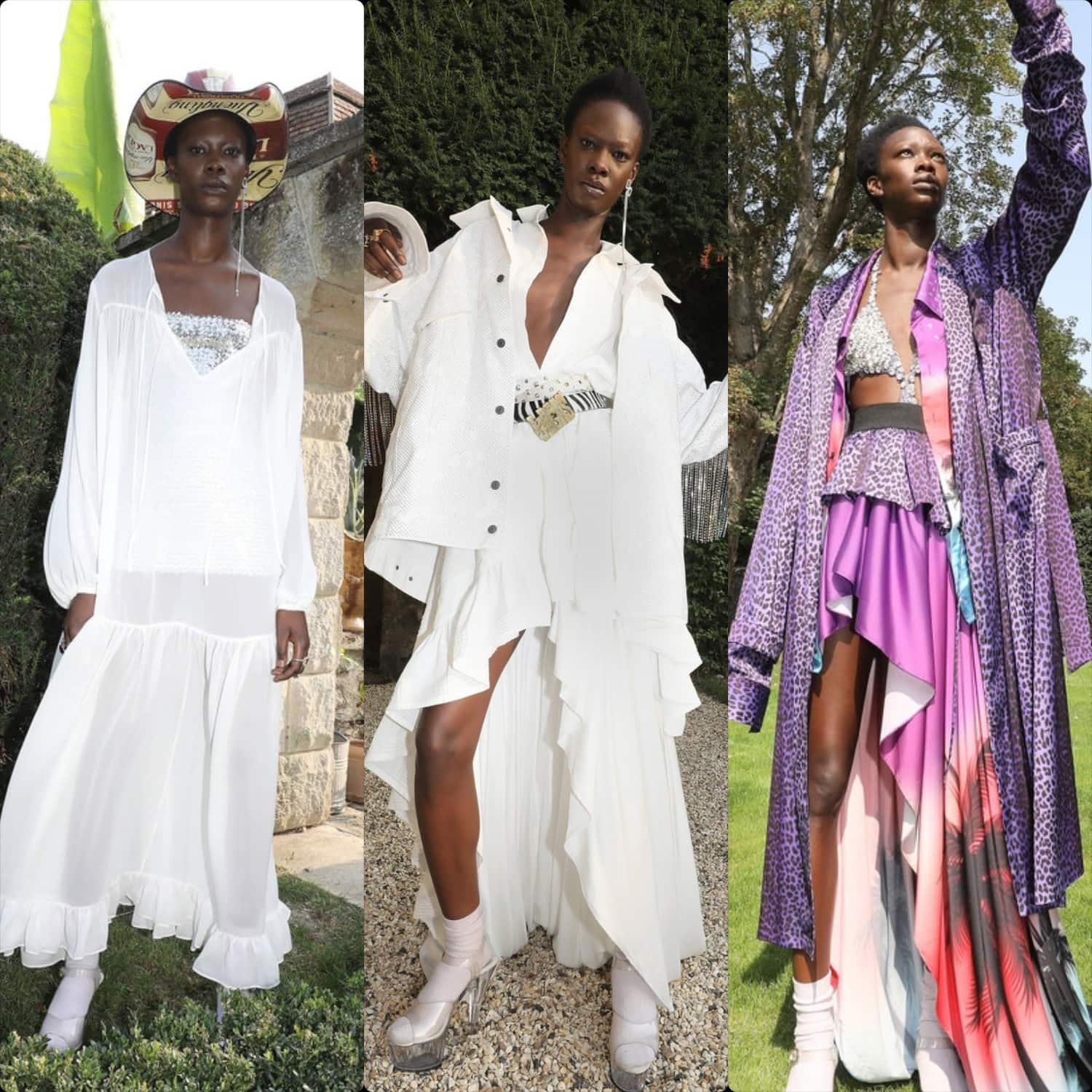 Faith Connexion Spring Summer 2021 New York. RUNWAY MAGAZINE ® Collections. RUNWAY NOW / RUNWAY NEW