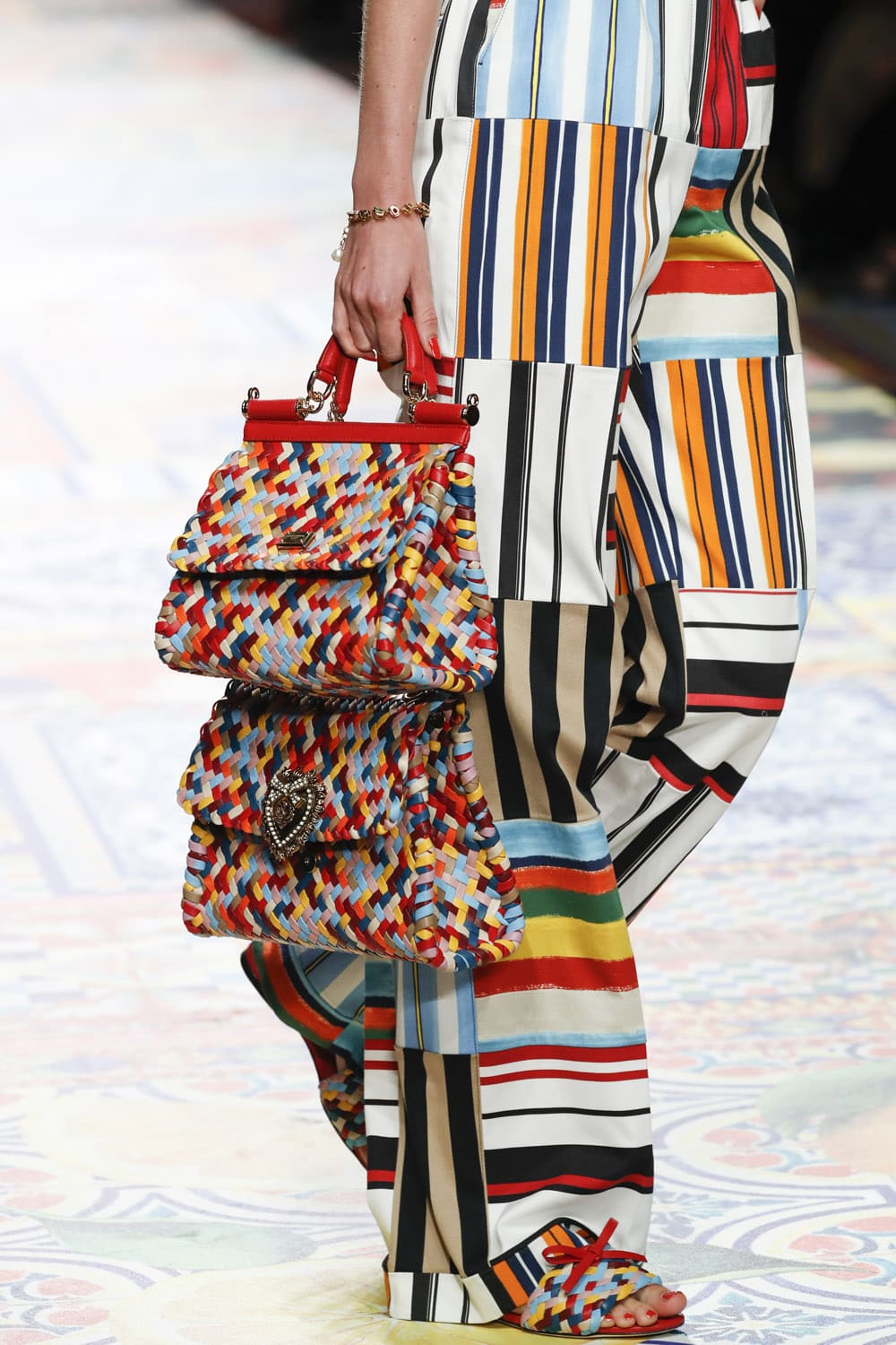 Dolce Gabbana Spring Summer 2021 - Details. RUNWAY MAGAZINE ® Collections. RUNWAY NOW / RUNWAY NEW