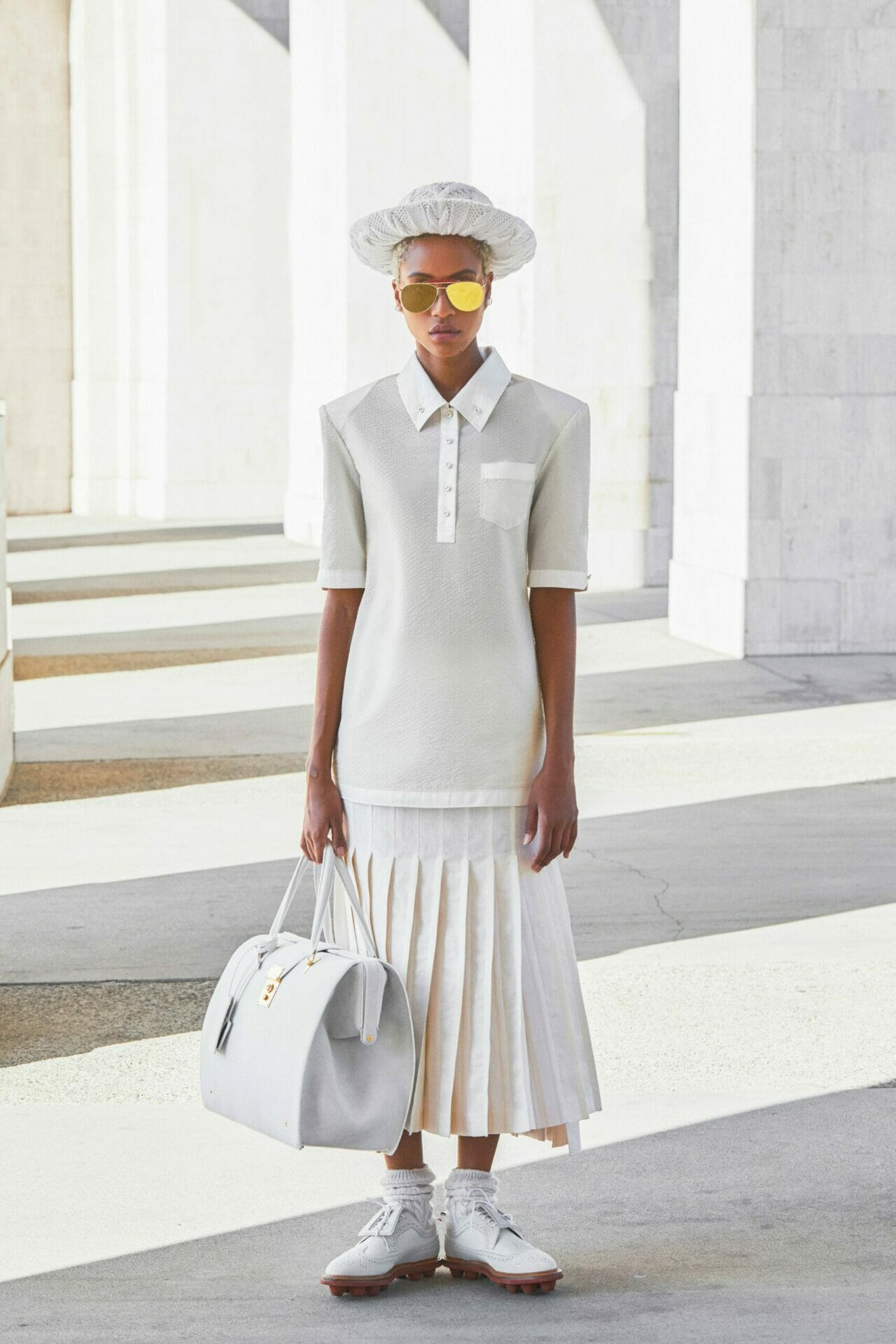 Thom Browne Spring Summer 2021. RUNWAY MAGAZINE ® Collections. RUNWAY NOW / RUNWAY NEW