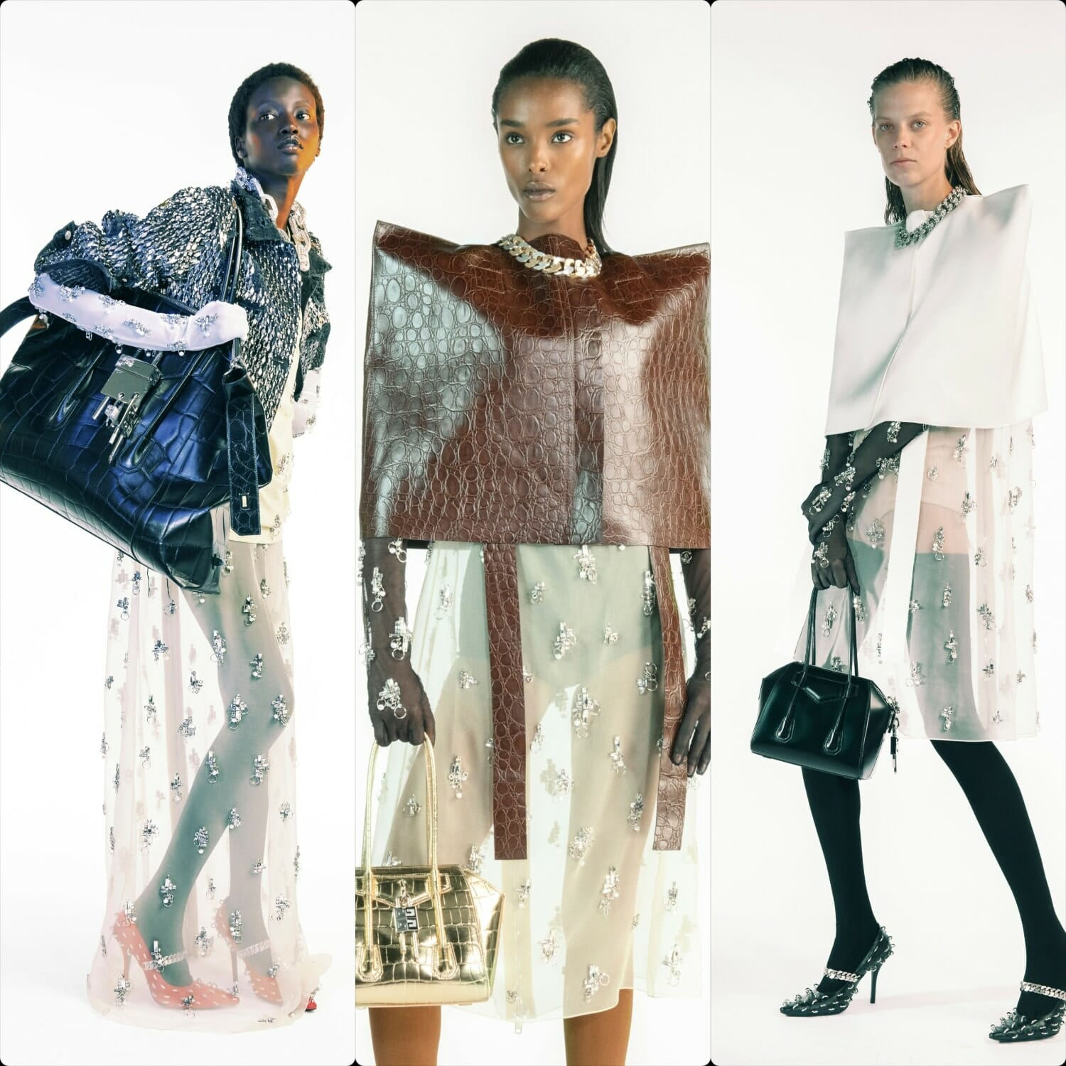Givenchy Spring Summer 2021 Paris. RUNWAY MAGAZINE ® Collections. RUNWAY NOW / RUNWAY NEW