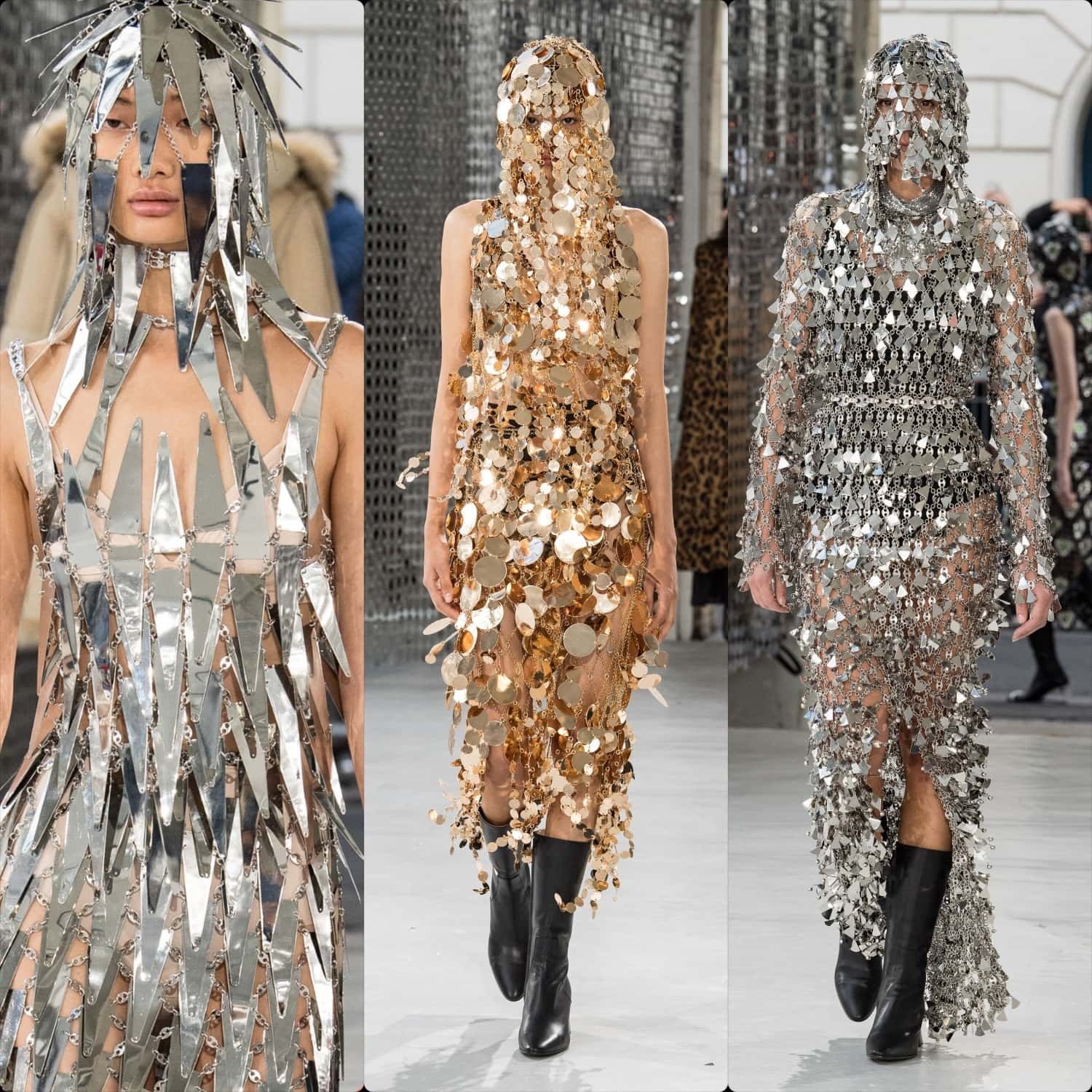 Paco Rabanne Spring Summer 2021 Paris. RUNWAY MAGAZINE ® Collections. RUNWAY NOW / RUNWAY NEW