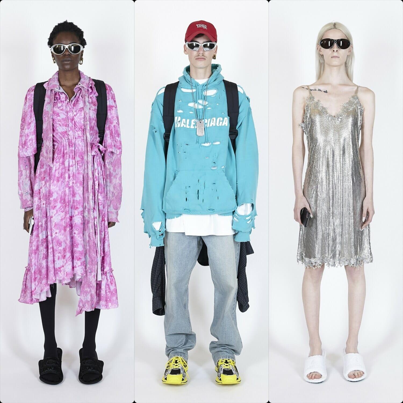 Balenciaga Spring Summer 2021 Paris. RUNWAY MAGAZINE ® Collections. RUNWAY NOW / RUNWAY NEW