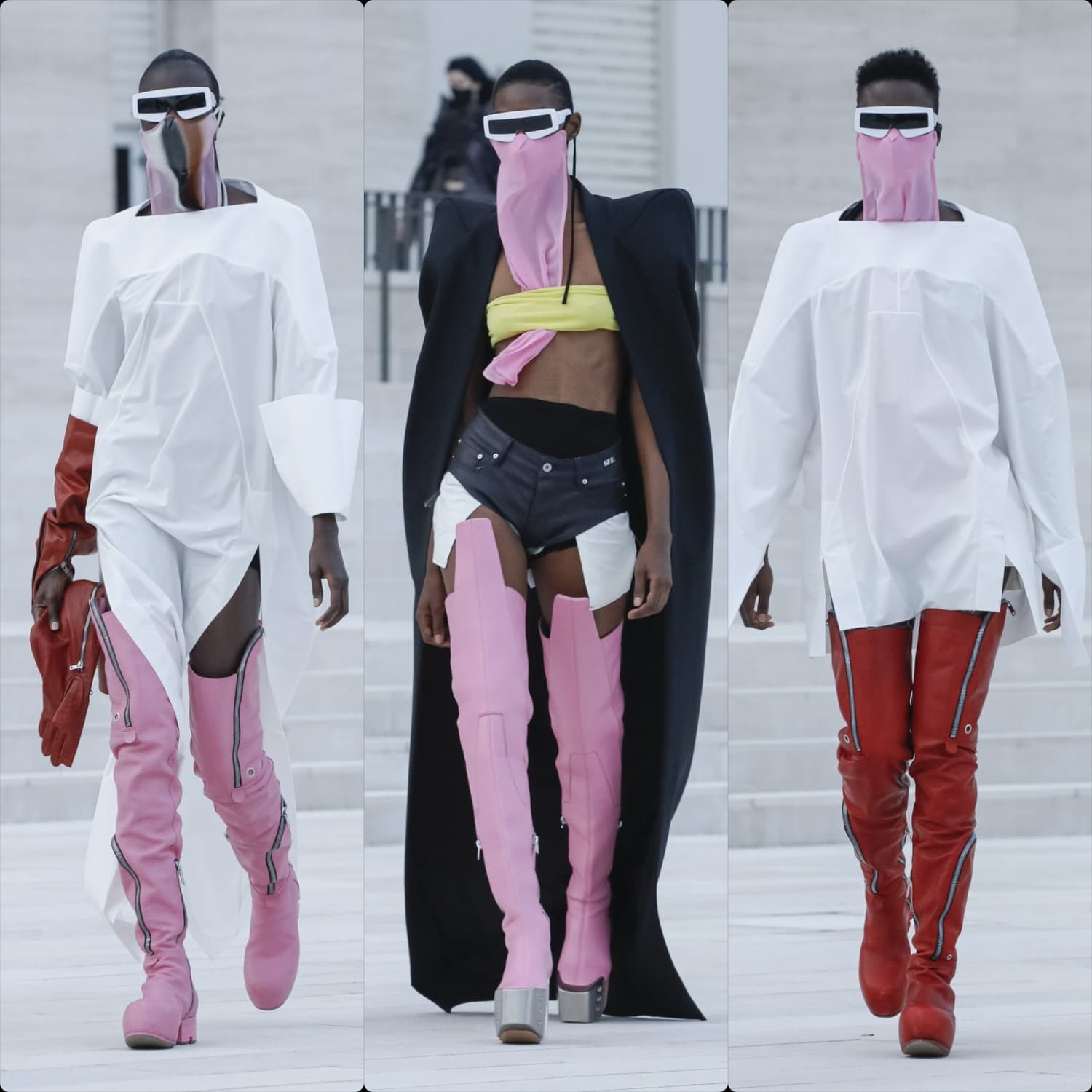 Rick Owens Spring Summer 2021. RUNWAY MAGAZINE ® Collections. RUNWAY NOW / RUNWAY NEW