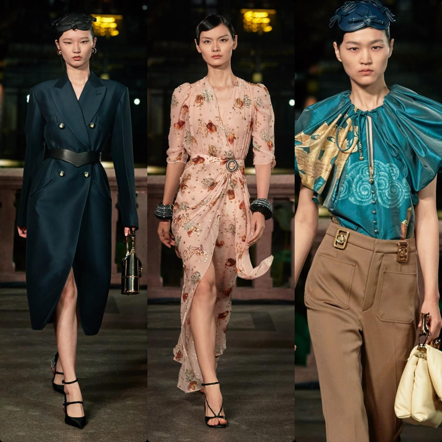 Lanvin Spring Summer 2021 Shanghai. RUNWAY MAGAZINE ® Collections. RUNWAY NOW / RUNWAY NEW