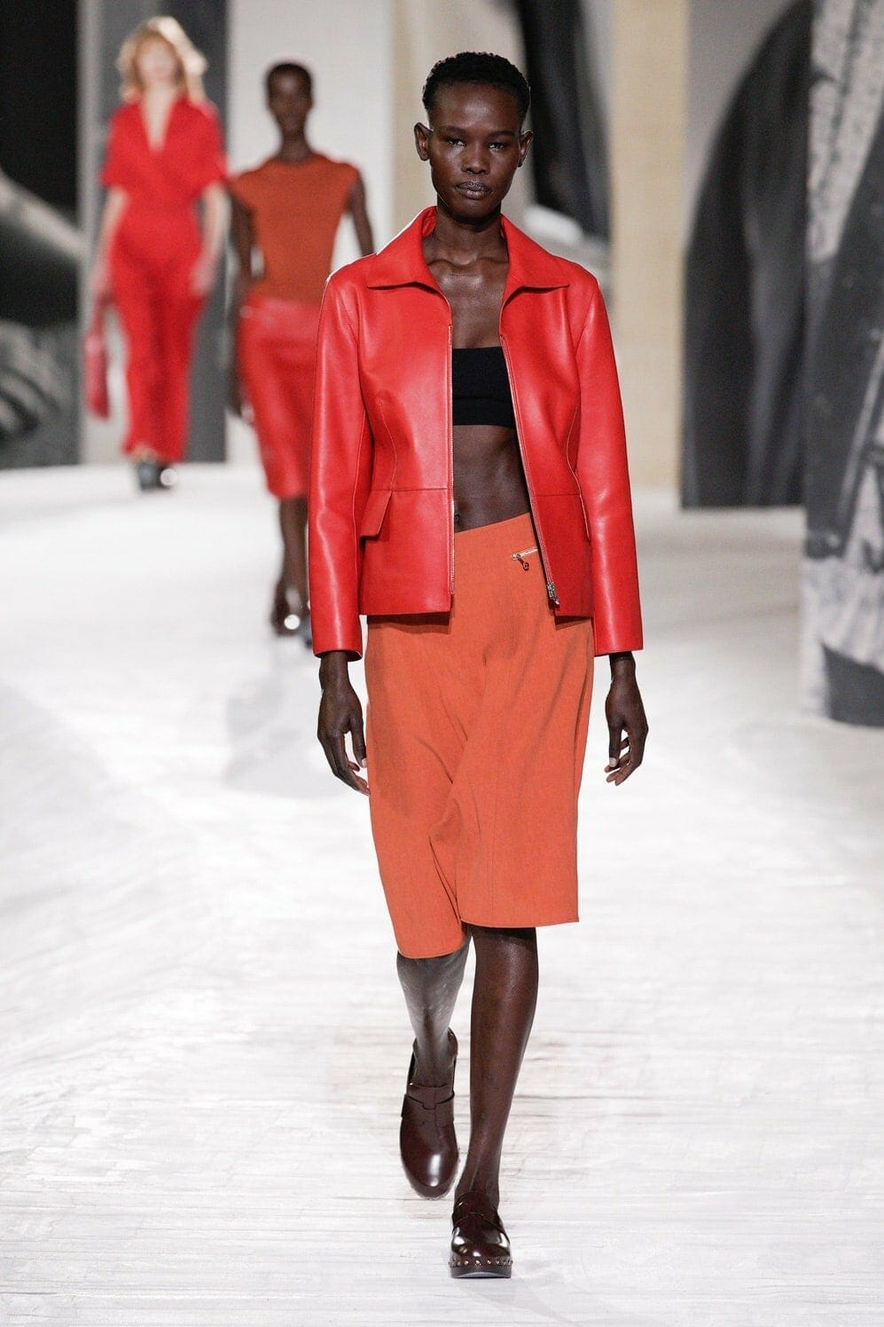 Hermes Spring Summer 2021 Paris. RUNWAY MAGAZINE ® Collections. RUNWAY NOW / RUNWAY NEW
