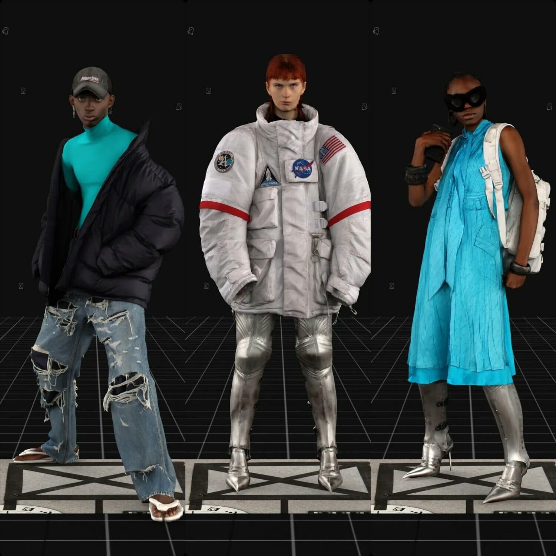 Balenciaga Fall-Winter 2021-2022. RUNWAY MAGAZINE ® Collections. RUNWAY NOW / RUNWAY NEW