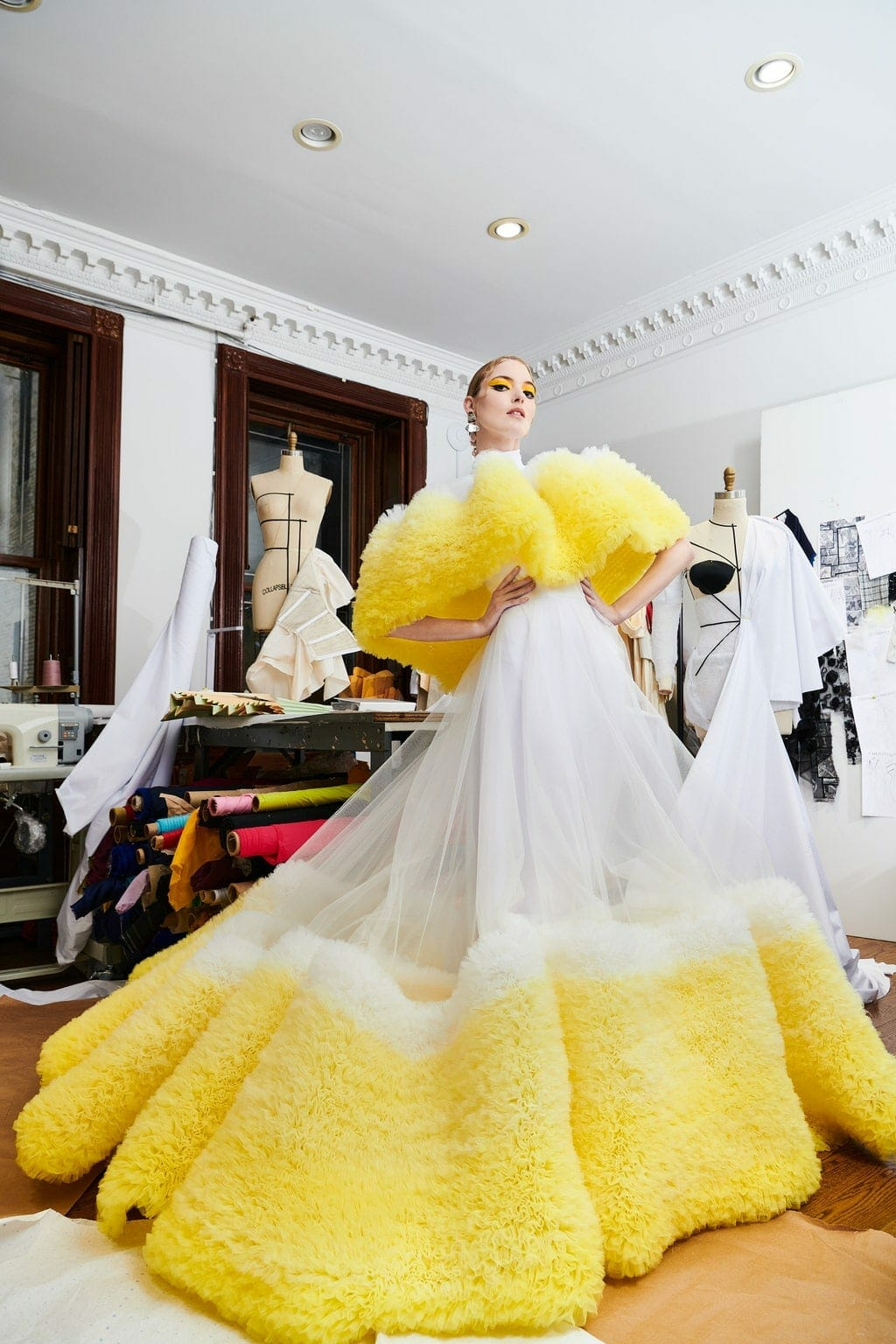 Christian Siriano Pre-Fall 2021 New York. RUNWAY MAGAZINE ® Collections. RUNWAY NOW / RUNWAY NEW