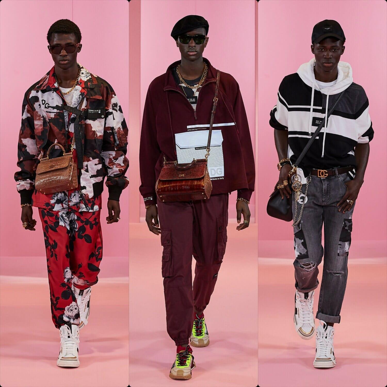 Dolce Gabbana Men Fall-Winter 2021-2022. RUNWAY MAGAZINE ® Collections. RUNWAY NOW / RUNWAY NEW