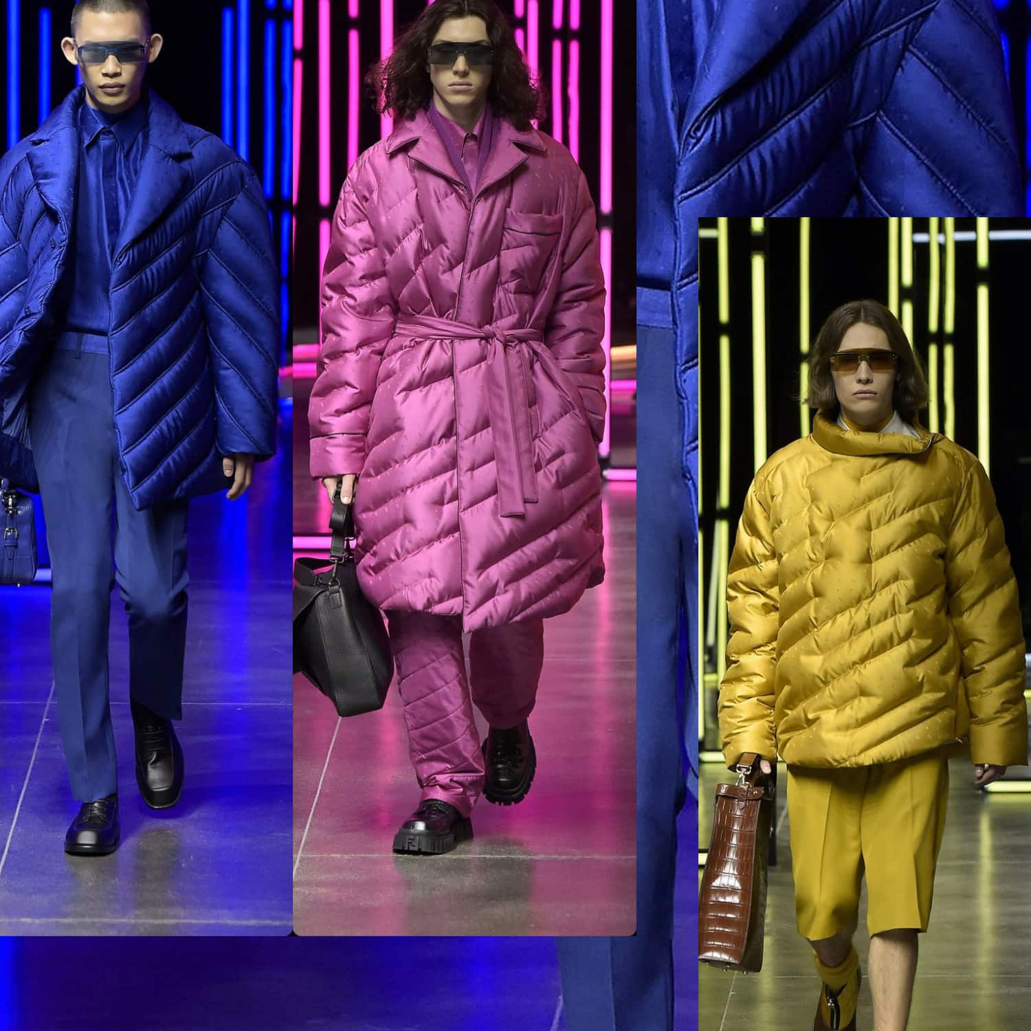 Fendi Men Fall-Winter 2021-2022. RUNWAY MAGAZINE ® Collections. RUNWAY NOW / RUNWAY NEW
