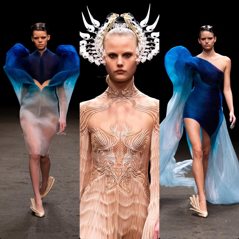 Iris van Herpen Haute Couture Spring Summer 2021. RUNWAY MAGAZINE ® Collections. RUNWAY NOW / RUNWAY NEW