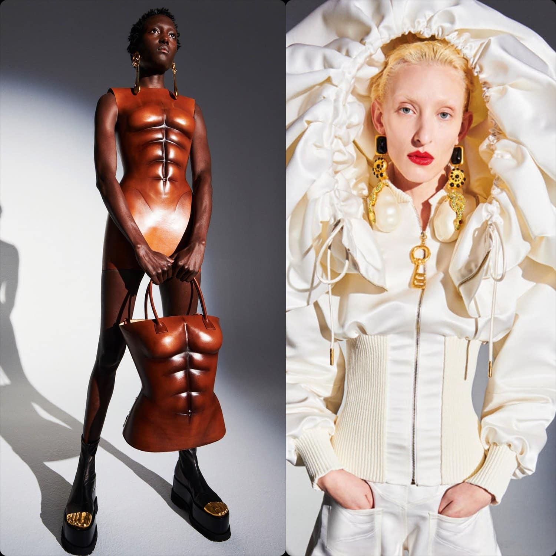 Schiaparelli Haute Couture Spring Summer 2021. RUNWAY MAGAZINE ® Collections. RUNWAY NOW / RUNWAY NEW